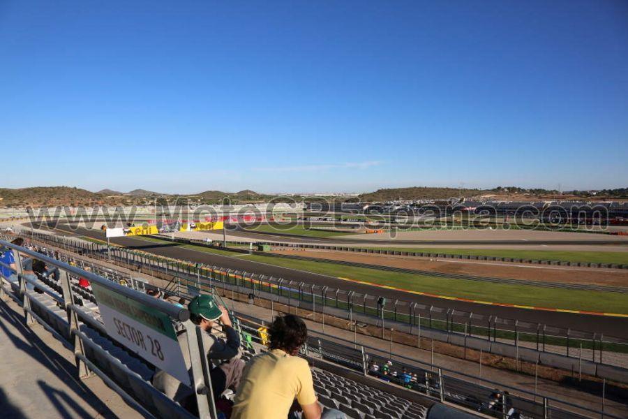 Circuito Valencia : Tribuna verde circuito cheste gp valencia motogp españa