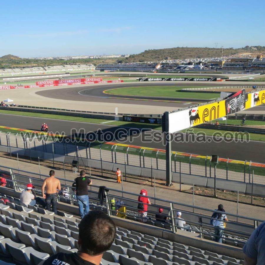 Circuito Ricardo Tormo : Tribuna blanca circuito cheste gp valencia motogp españa