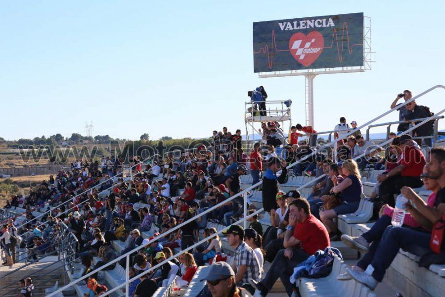 Circuito Valencia : Tribunas motogp cheste españa
