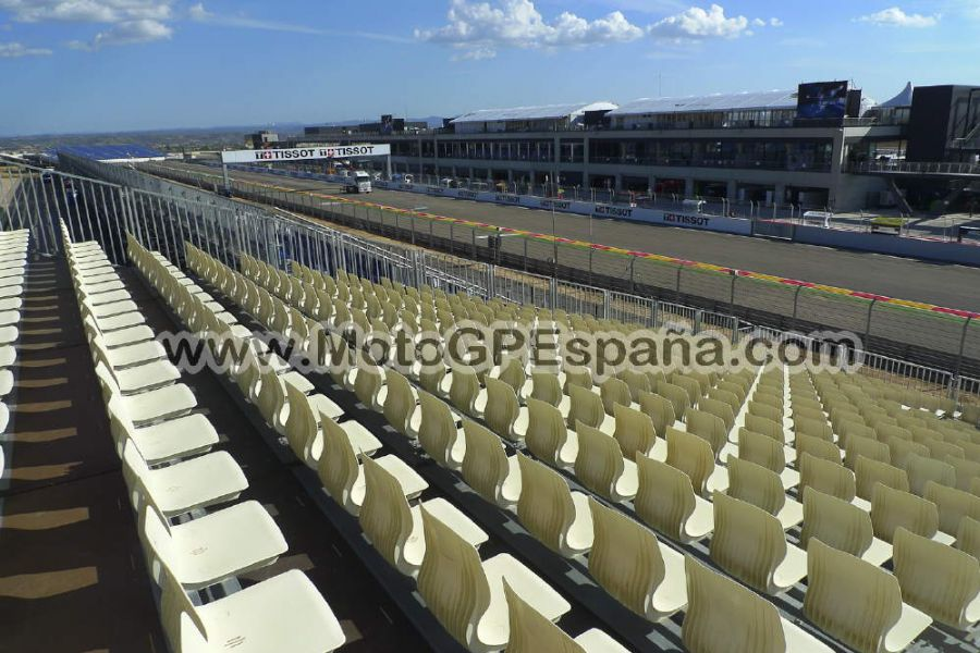 Circuito Aragon : Grada c gp aragon motogp españa