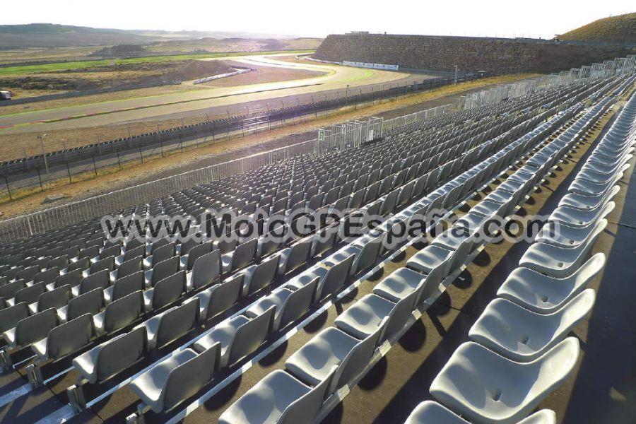 Circuito Alcañiz : Grada c gp aragon motogp españa
