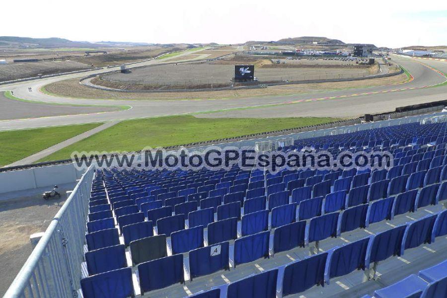 Circuito Motorland : Grada gp aragon motogp españa